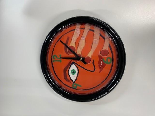Hey Clockface aluminum clock + Hey Clockface 2xLP/Vinyl/CD/Download (optional)