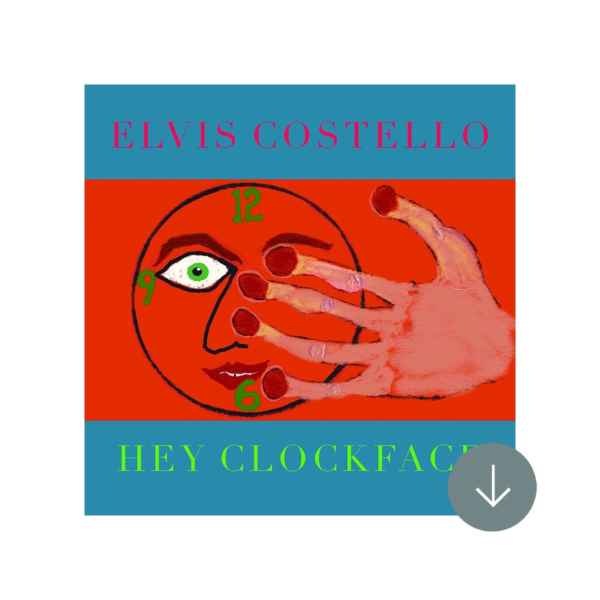 "SIGNED or Unsigned Hey Clockface sun marble vinyl 2xLP + turntable mat/""No Flag"" 7"" (optional)"