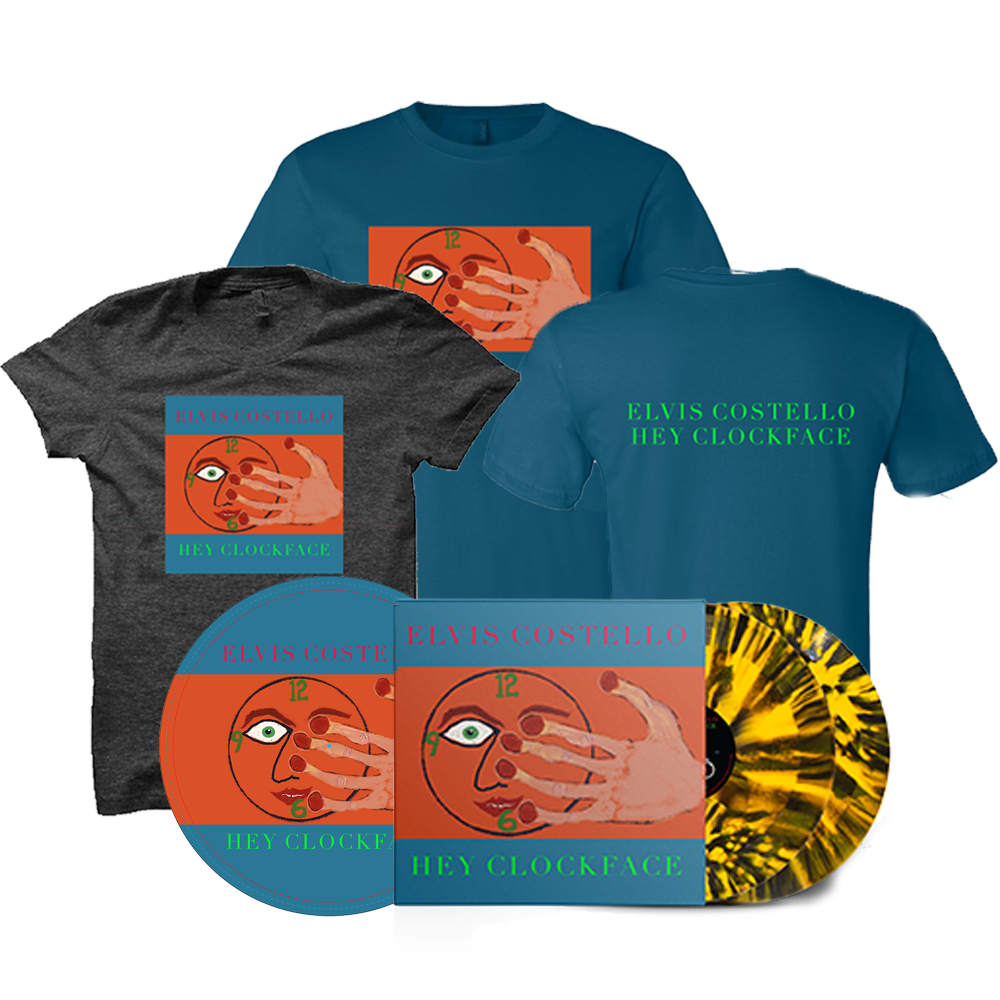Signed Sun Marble vinyl 2xLP + Tee Shirt + Turntable Mat