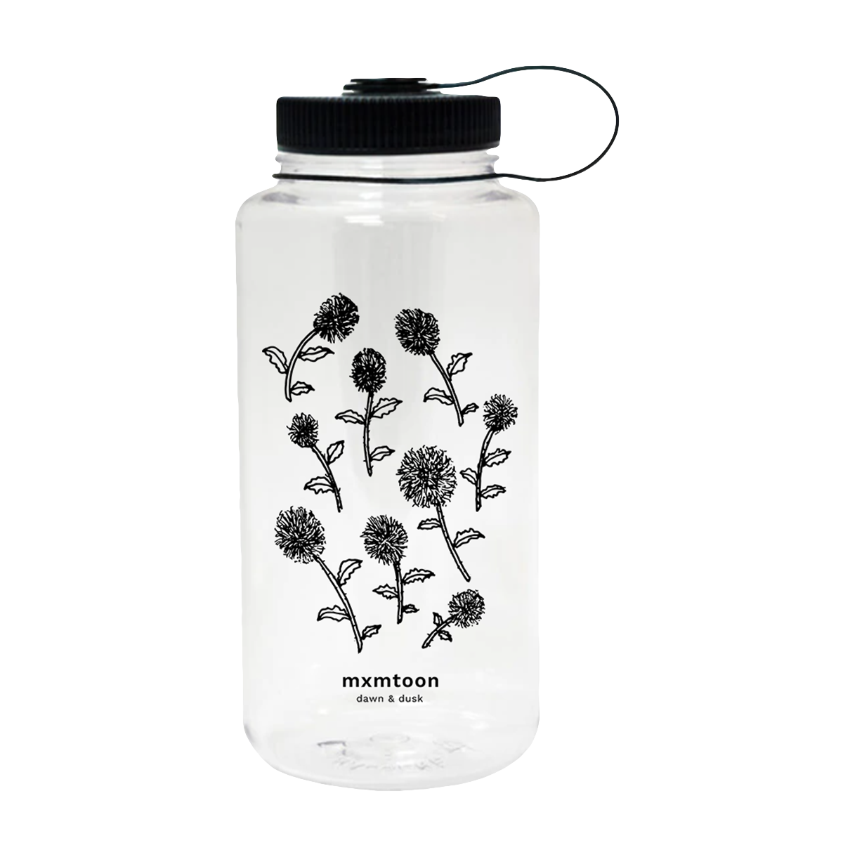 mxmtoon water bottle (nalgene)