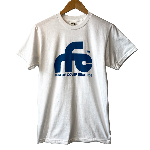 Run For Cover - Logo Shirt (White)