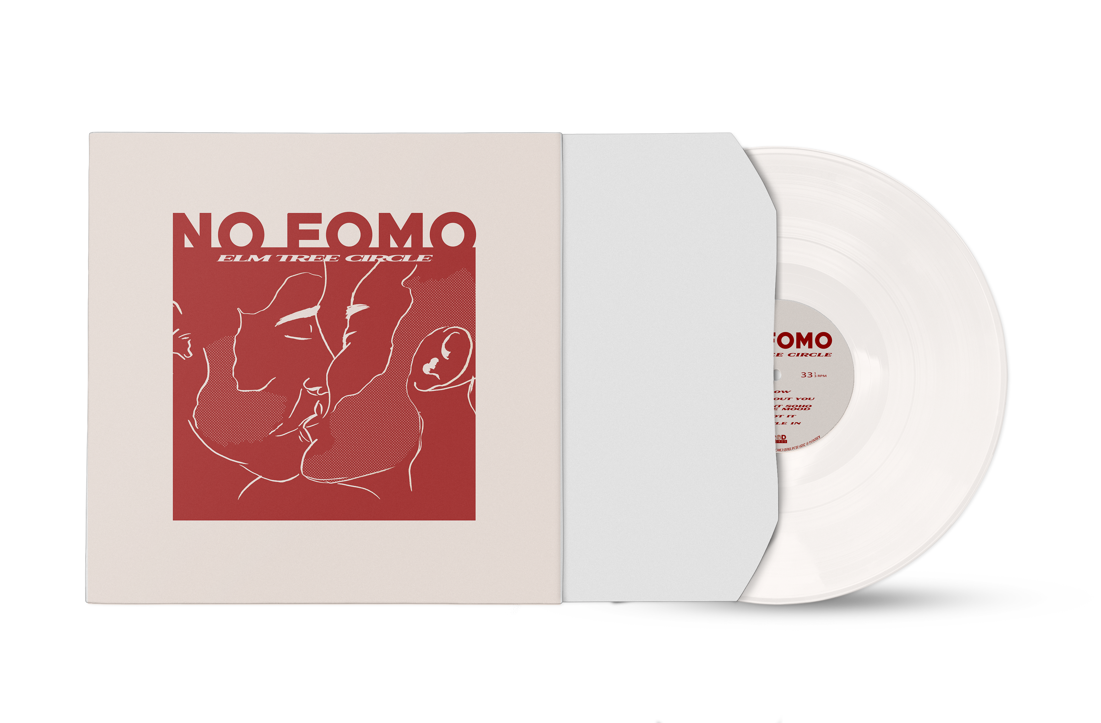 Elm Tree Circle - NO FOMO (LP, Vinyl, Milky Clear)