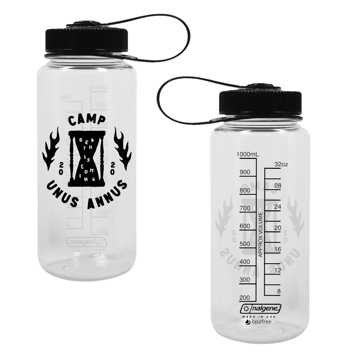 Camp Unus Annus Water Bottle