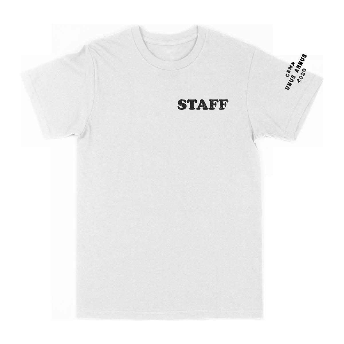 Camp Unus Staff Tee - White