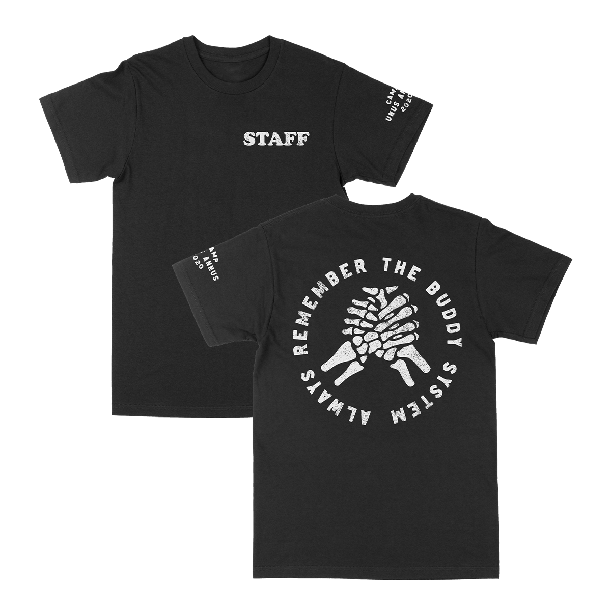 Camp Unus Staff Tee - Black