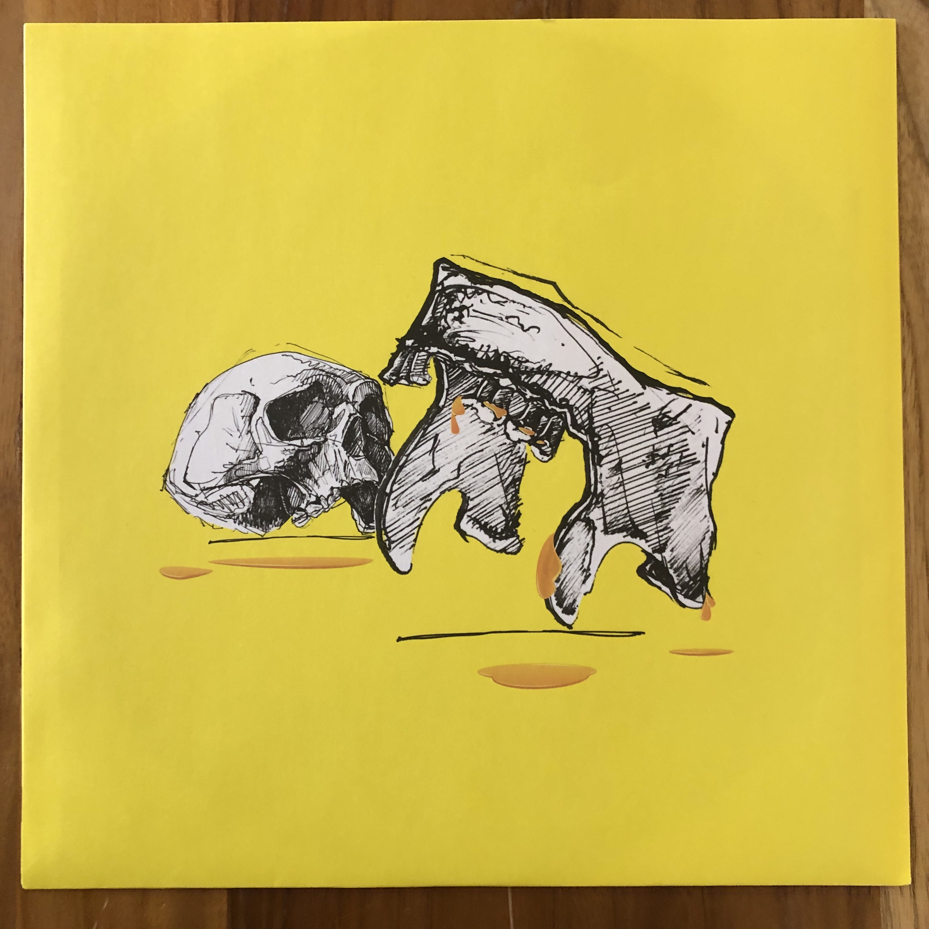 JEFF The Brotherhood PAY NO ATTENTION (UK/Red Vinyl)