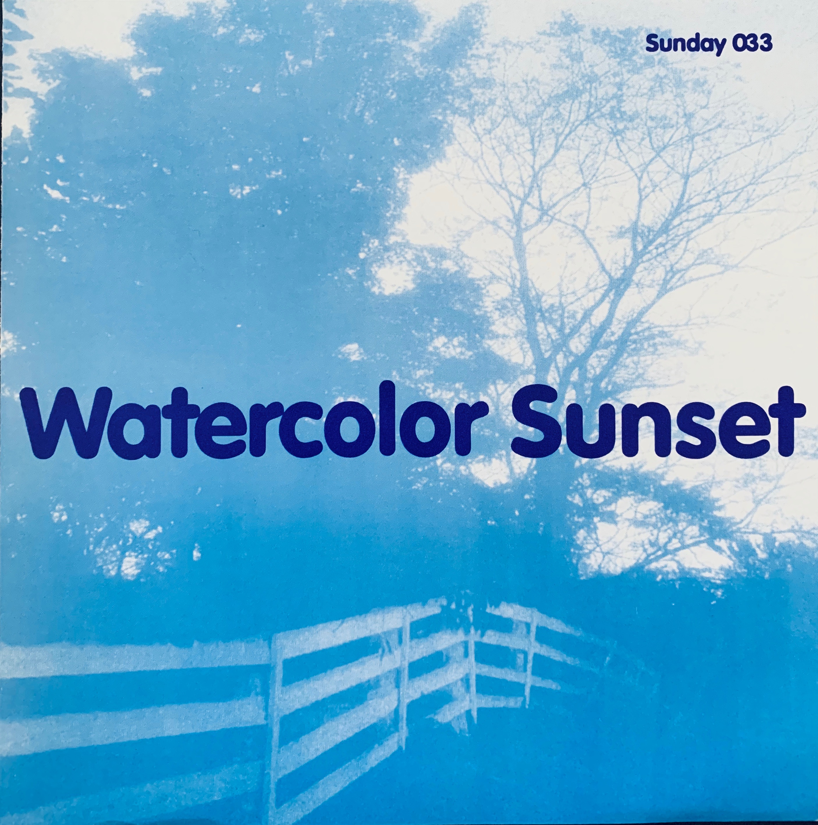 Watercolor Sunset - International Pop 7