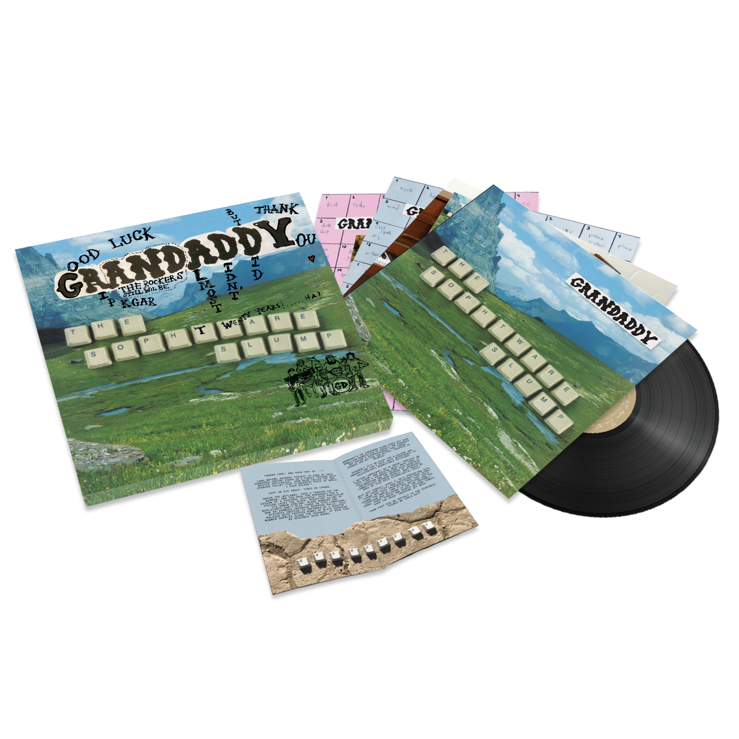 Grandaddy - The Sophtware Slump 20th Anniversary Collection - 4 LP Boxed Set Bundle