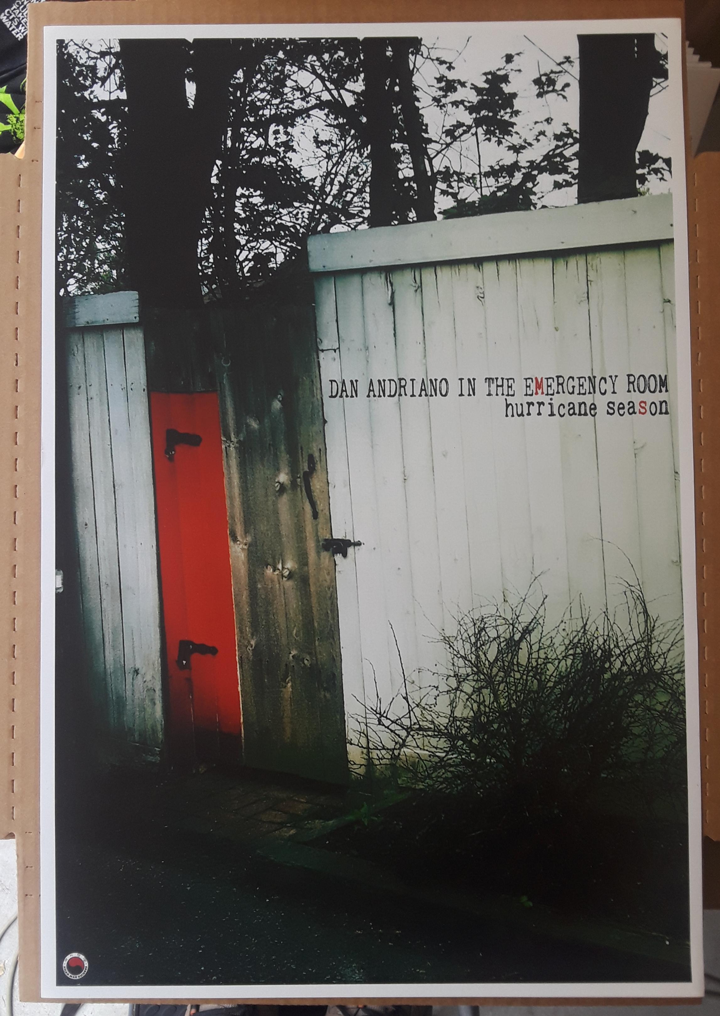 DAN ANDRIANO poster