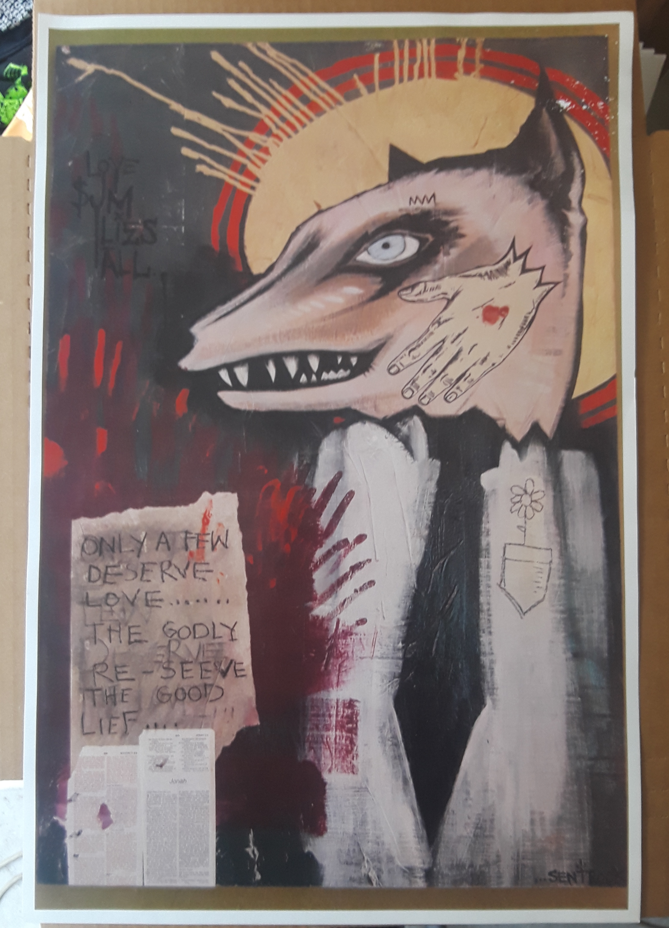 ANDREW JACKSON JIHAD poster