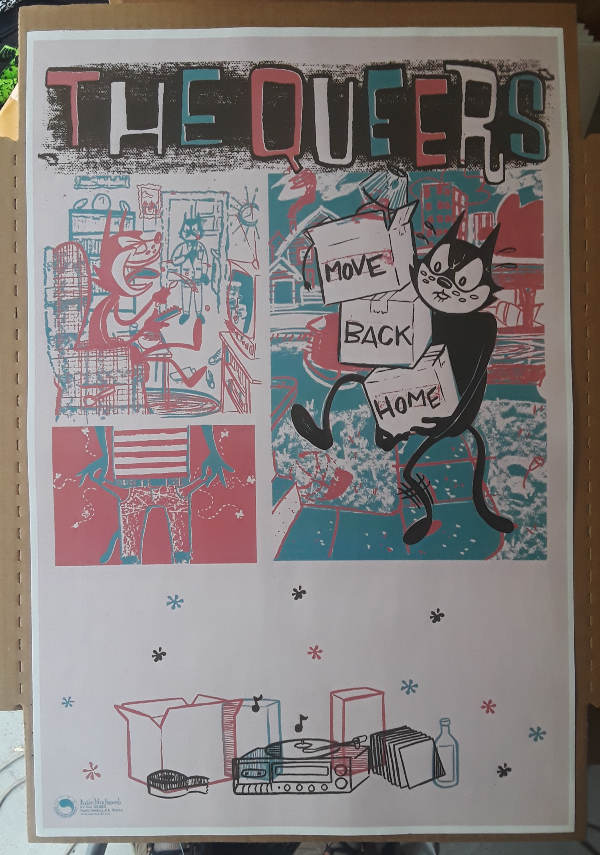 THE QUEERS poster