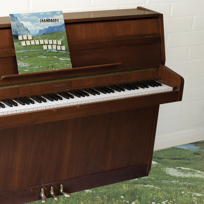 Grandaddy - The Sophtware Slump ..... on a wooden piano - Tri-Stripe Vinyl Bundle