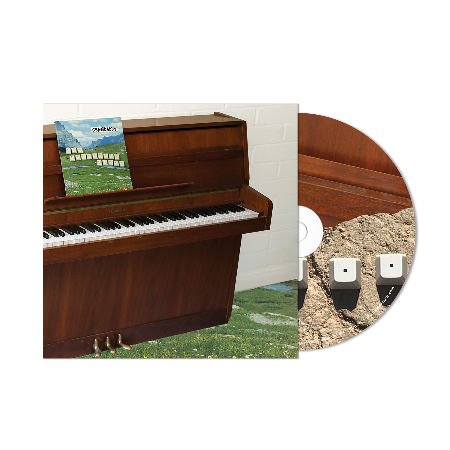 Grandaddy - The Sophtware Slump ….. on a wooden piano - CD Bundle