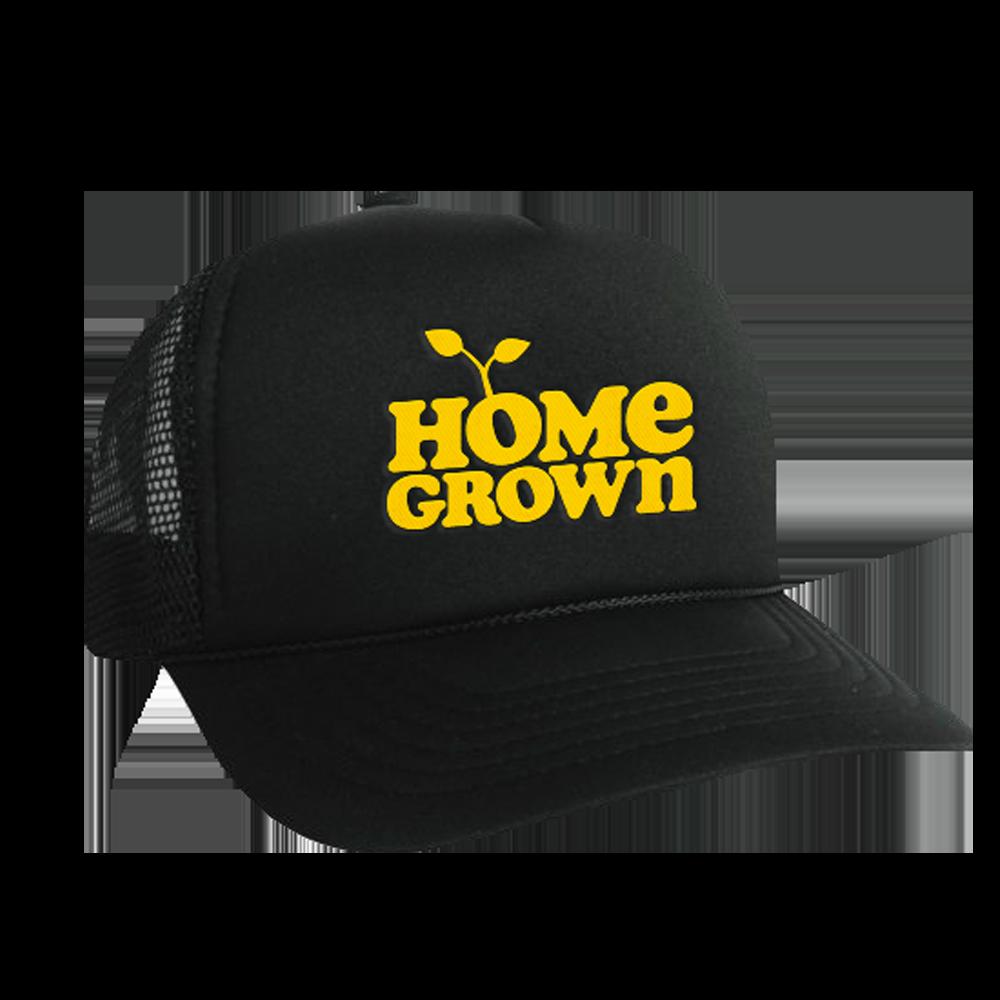 Logo Trucker Hat - Black