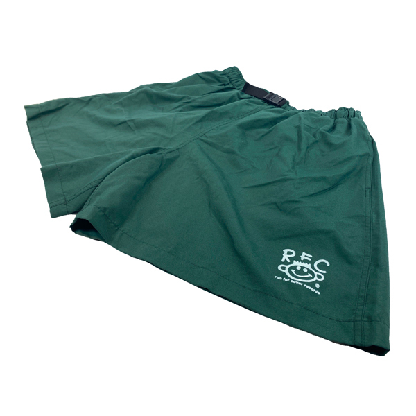 Run For Cover - Smile Shorts (Green)