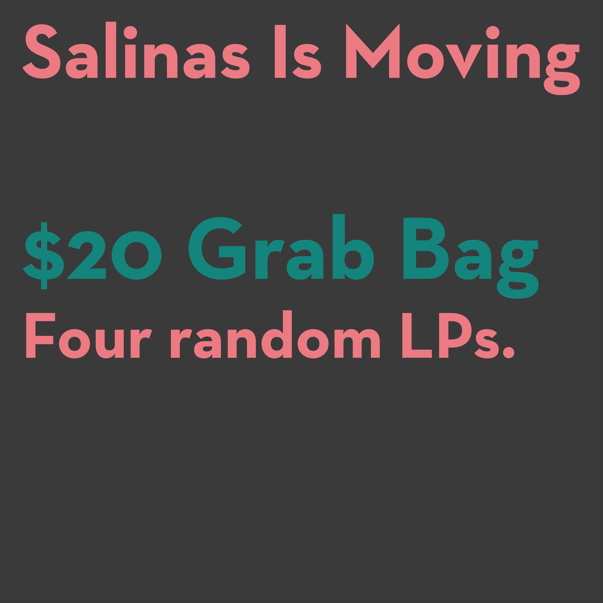 Four LP Grab Bag