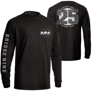 Bridge Nine '25th Year Anniversary' Longsleeve