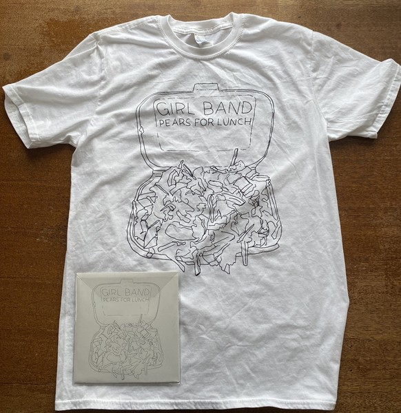 Pears For Lunch - T-shirt Bundle - Front Cover Design
