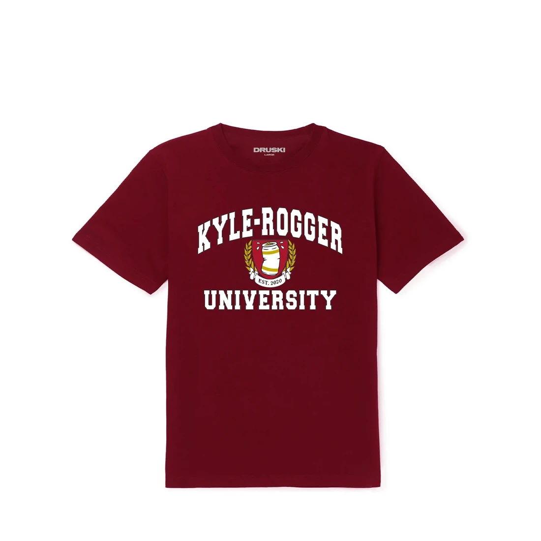 Kyle-Rogger Uni Tee - Burgundy