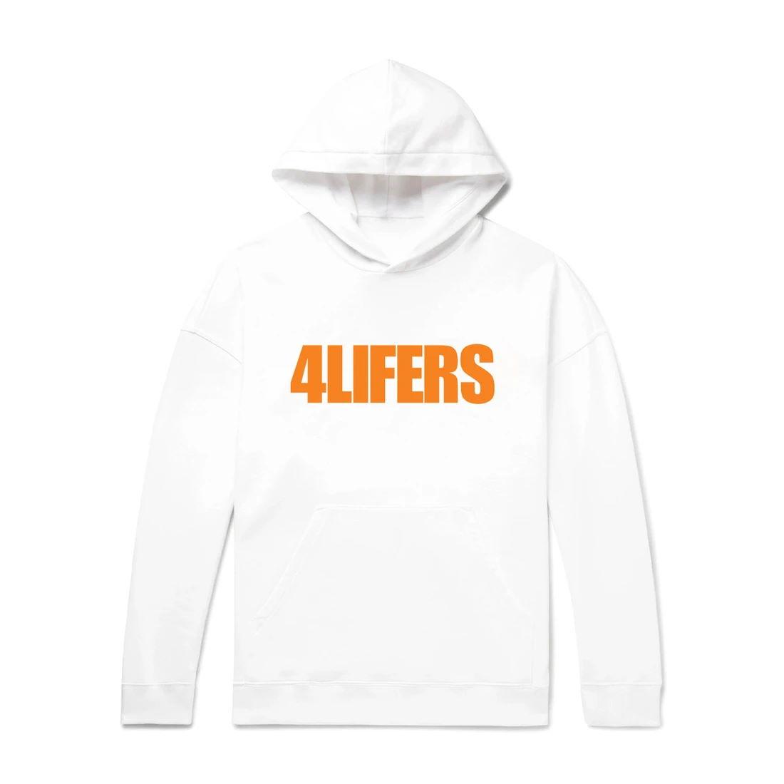 4Lifers Hoodie - White