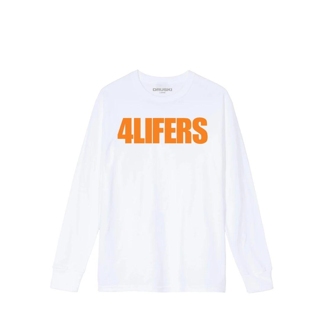 4Lifers Long Sleeve Tee - White