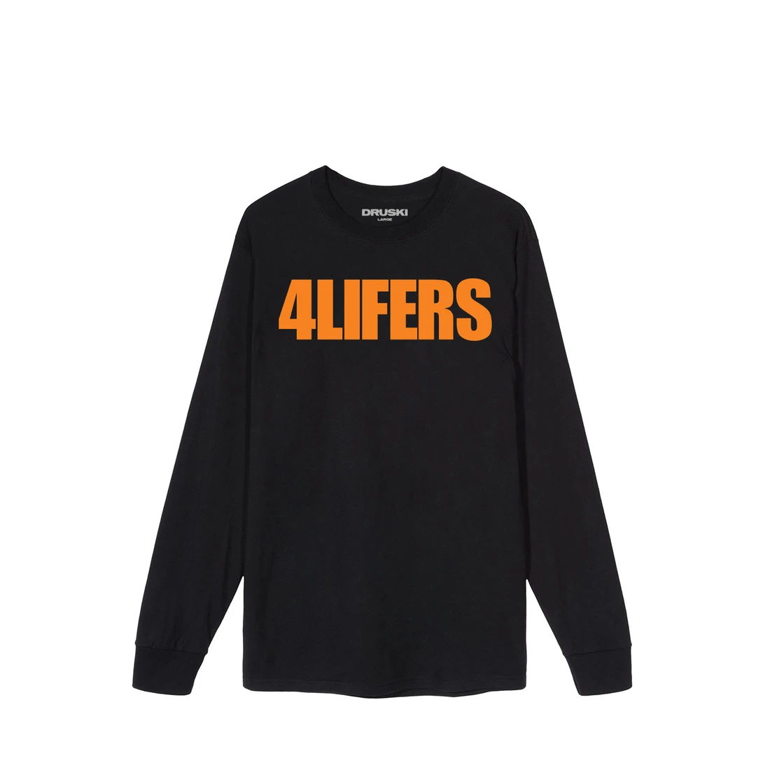 4Lifers Long Sleeve Tee - Black