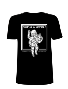 Keep it a Secret - Space Gorilla T-Shirt (Fair Trade)