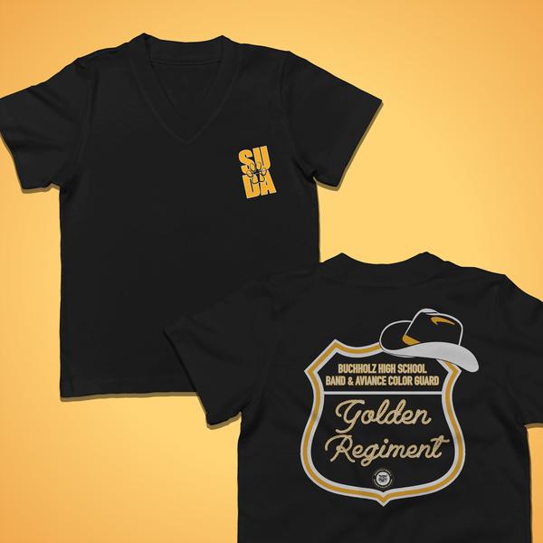 Golden Regiment Spirit Shirt (Ladies')