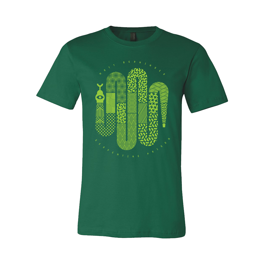 Serpentine Prison T-Shirts (Two Options) + Download (Optional)