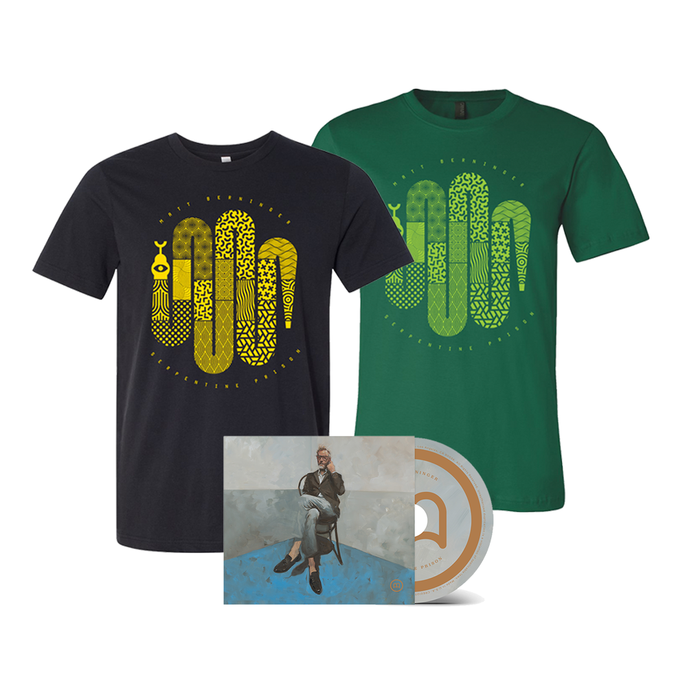 Serpentine Prison Unsigned CD + Choice of T-Shirt