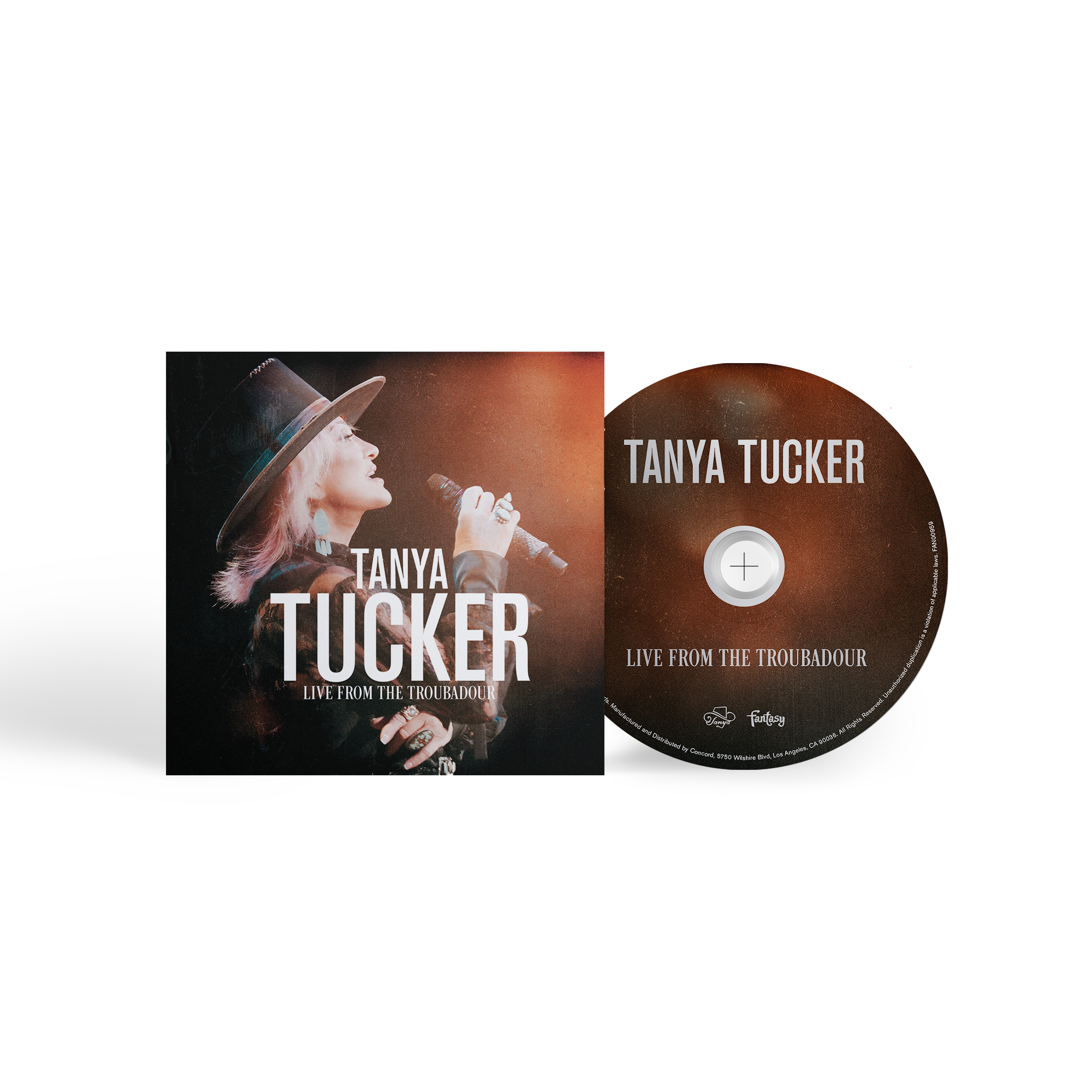 Tanya Tucker Live From The Troubadour Unsigned CD