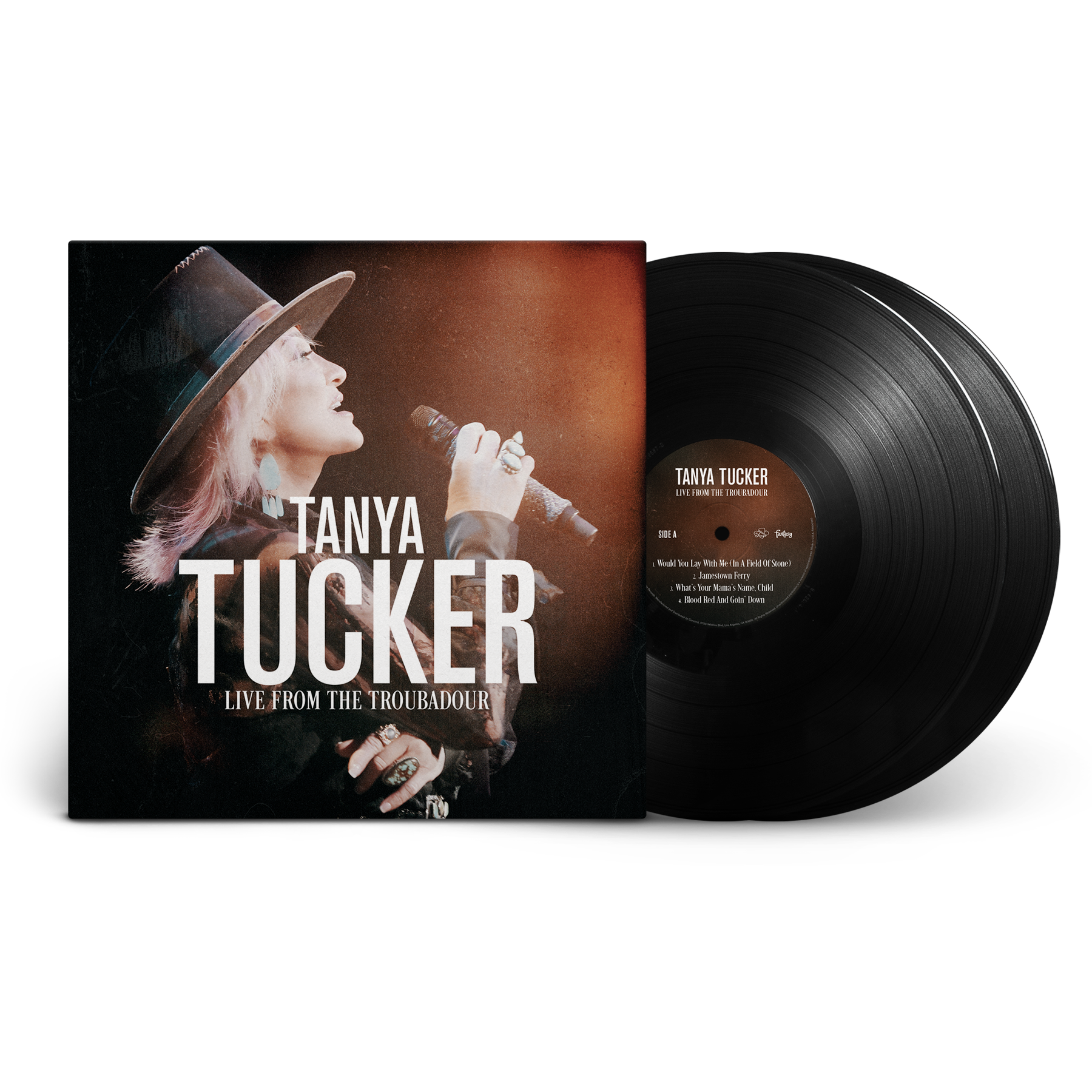 Tanya Tucker Live From The Troubadour Unsigned Standard Black 2xLP