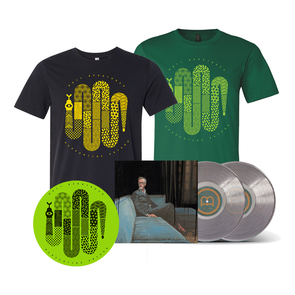 Signed Clear Deluxe 2xLP + Choice of T-Shirt + Turntable Mat