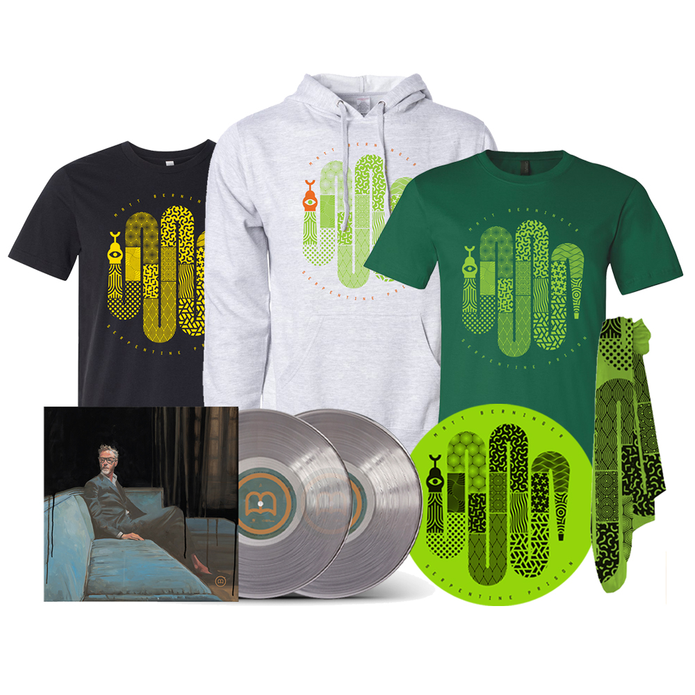 """One More Second"" SIGNED Clear Deluxe 2xLP Soft Stuff Bundle"