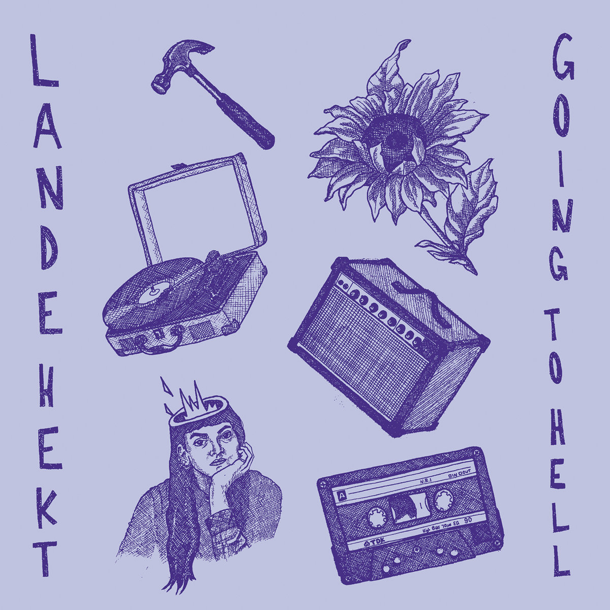 Lande Hekt - Going To Hell LP / CD