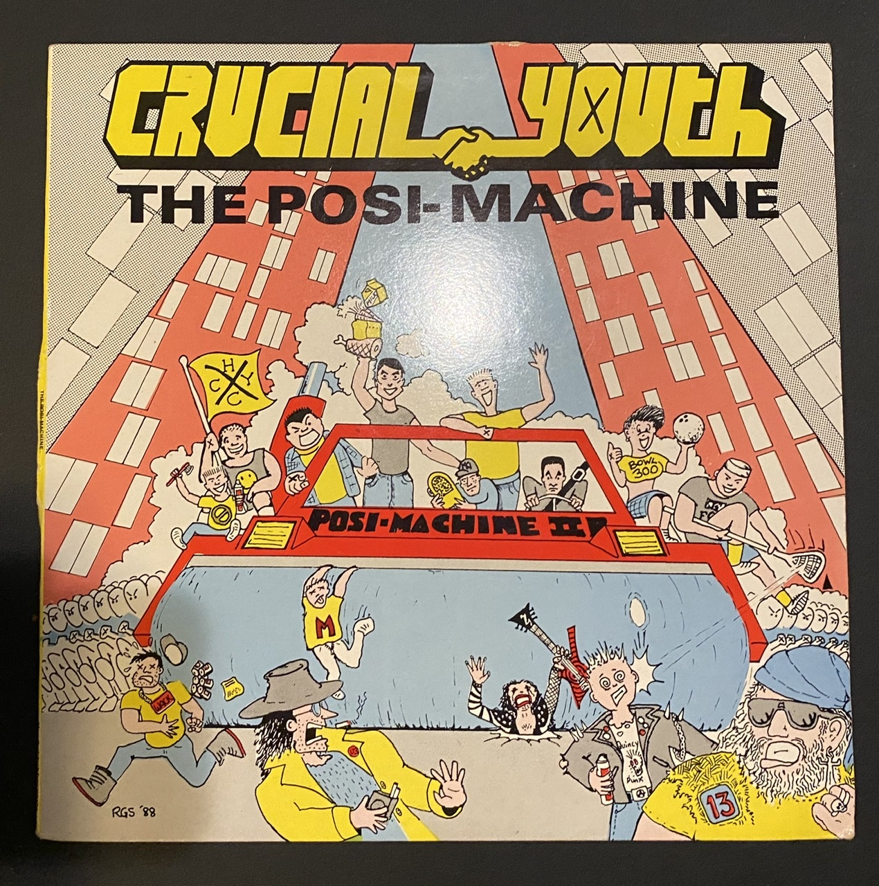 """*used* CRUCIAL YOUTH - The Posi-Machine 12"""""""