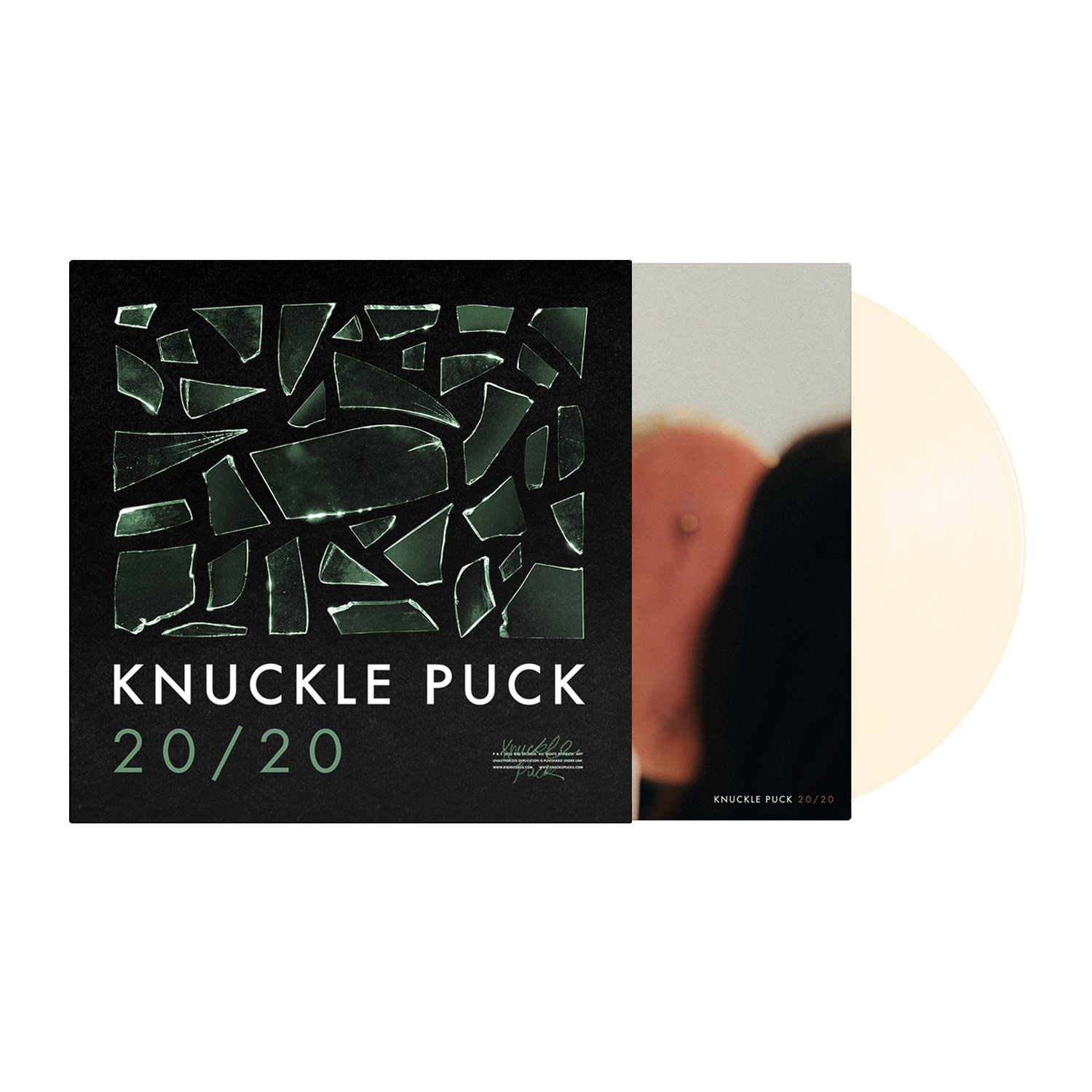20/20 Vinyl w/ Limited Edition Screenprinted Cover
