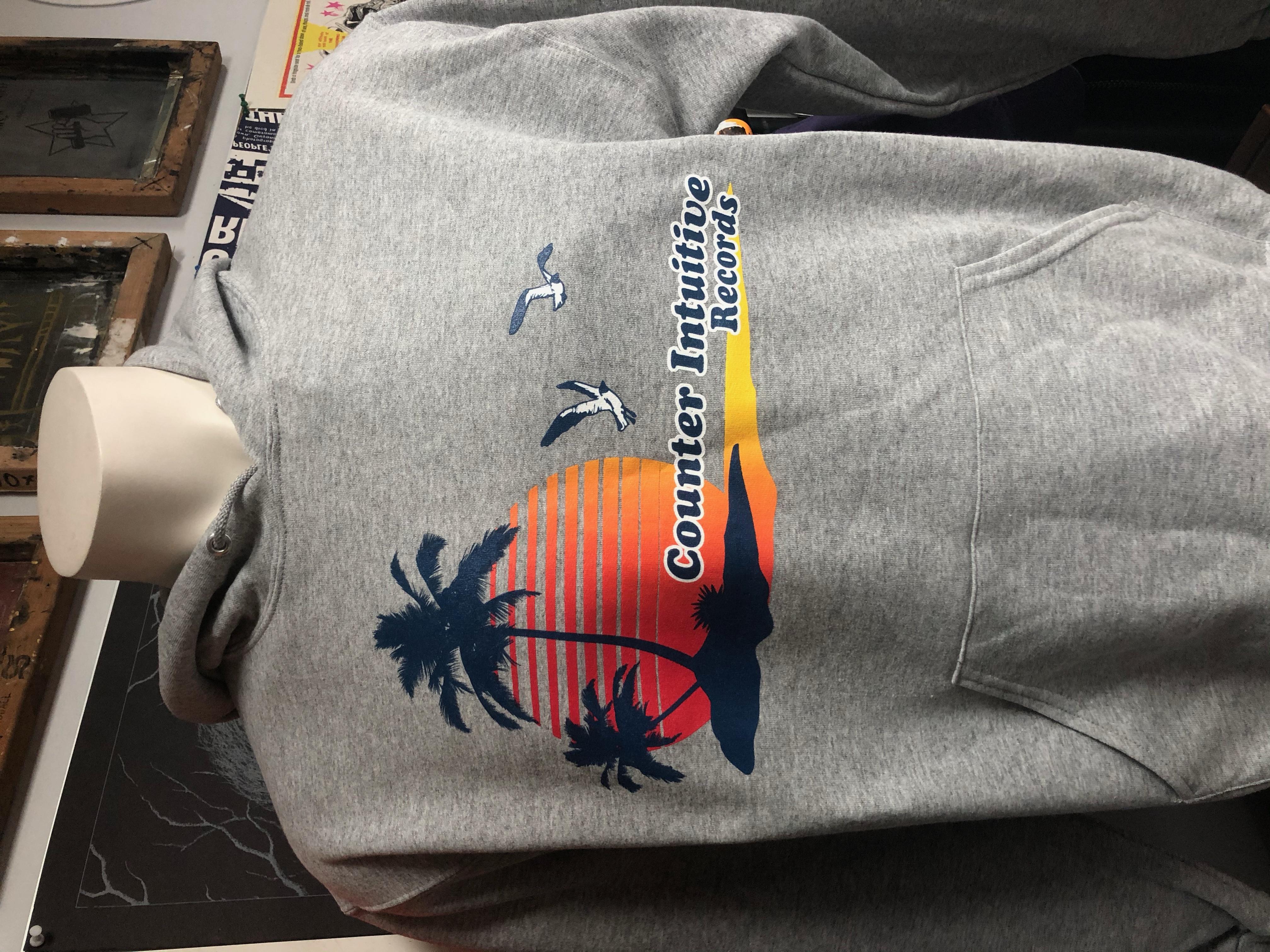 CI Beach Hoodie - Grey