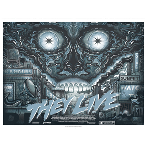 They Live Variant Print (B&W Metallic Version)
