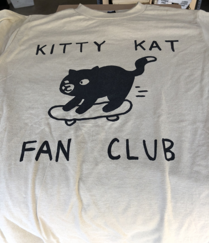 KITTY KAT FAN CLUB - SHIRT