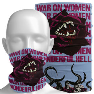 War On Women 'Wonderful Hell' Neck Gaiter