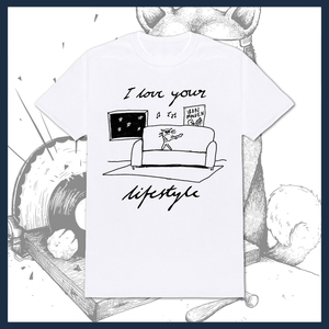 I Love Your Lifestyle - 'Rocking Cat' T-Shirt