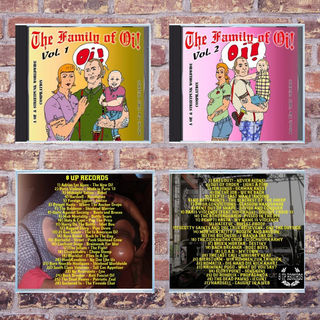 The family of Oi! vol. 1 + 2 - SPECIAL PRICE BUNDLE!!!