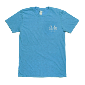 Light Blue Chest Logo T-shirt