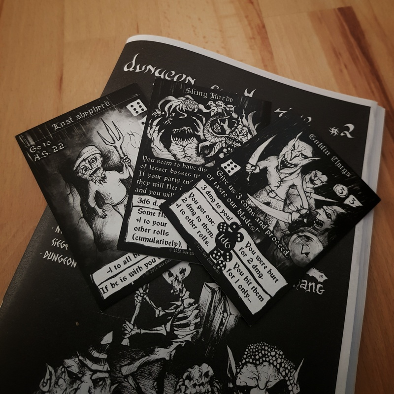 Dungeon Synth Zine #2 - Dame Silú Edition