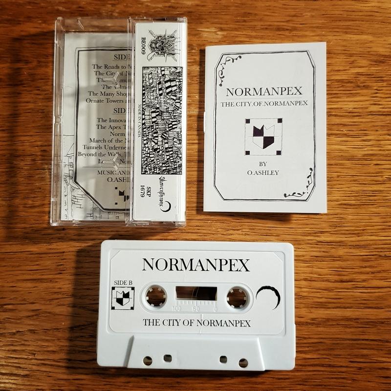 Normanpex - The City Of Normanpex Cassette Tape