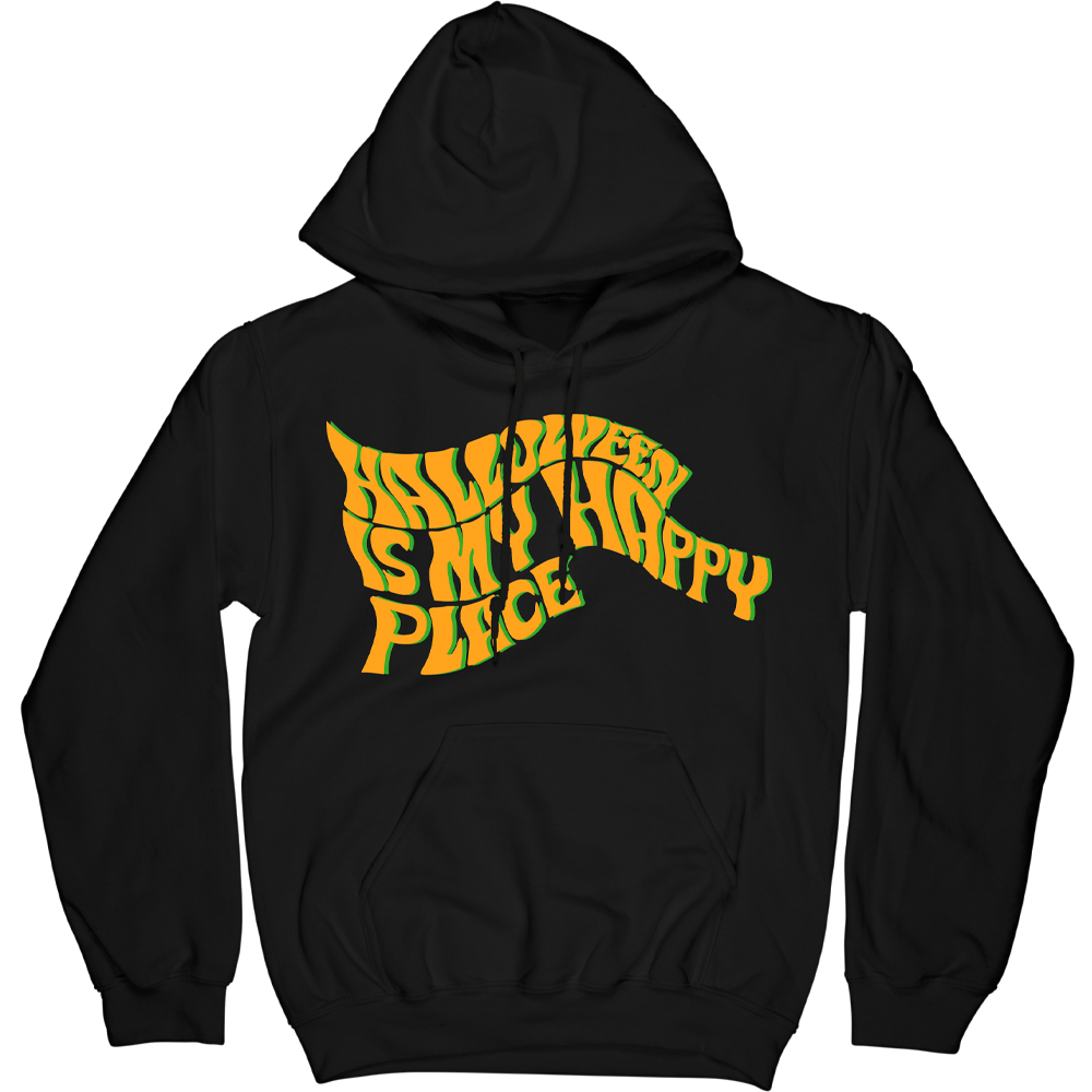 Halloween Is My Happy Place Hoodie