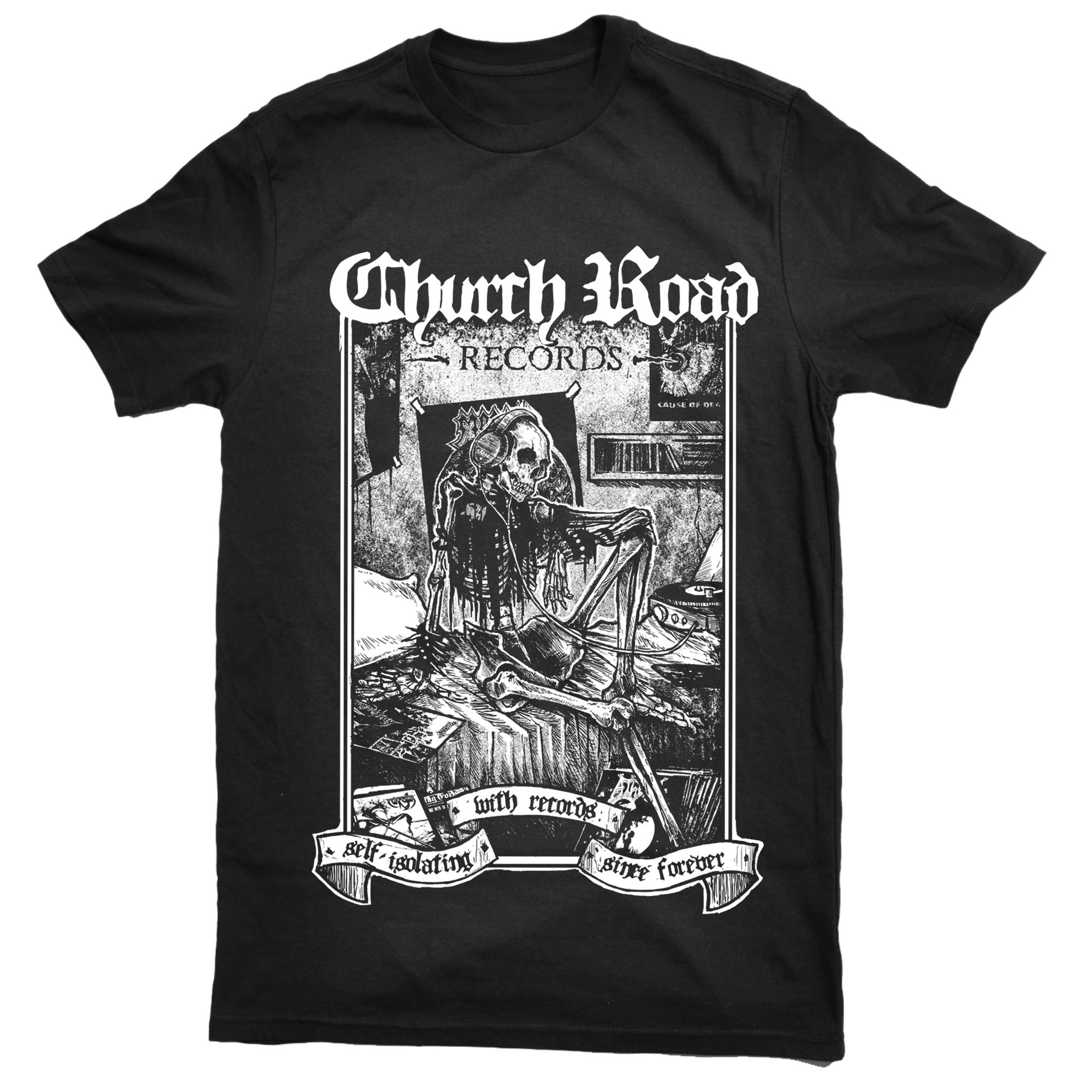 Church Road 'self-isolating' shirt