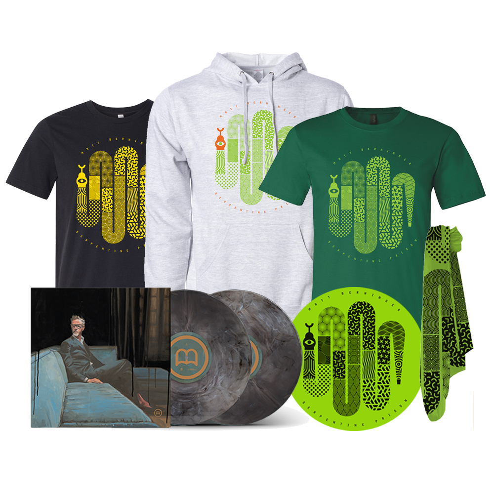 """One More Second"" SIGNED Grey Marble Deluxe 2xLP Soft Stuff Bundle"