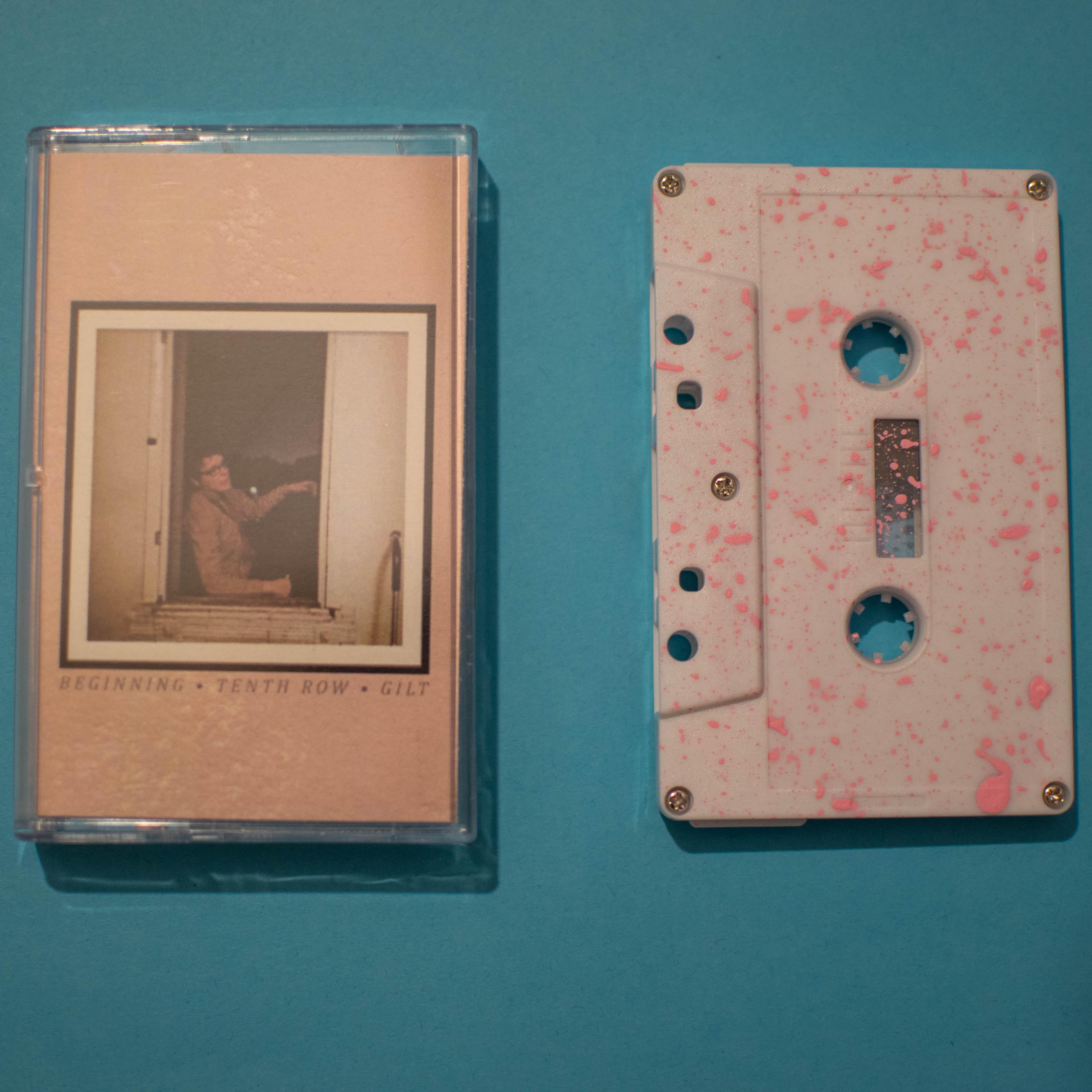 [FWR025] GILT | Beginning / Tenth Row / GILT Split Cassette Tape
